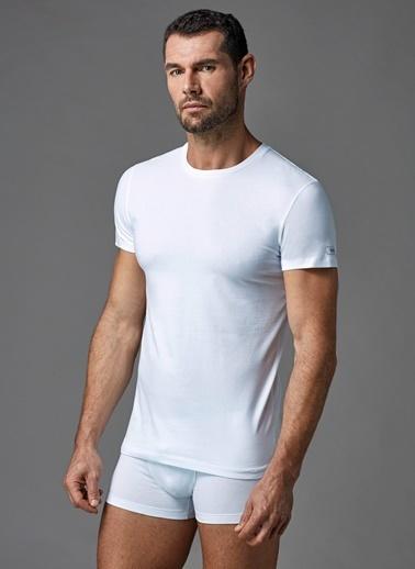Dagi Compact O Yaka T-Shirt Beyaz